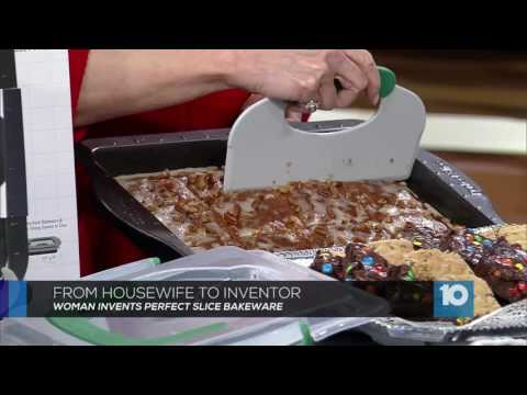 Perfect Slice Bakeware by BergHOFF featured on Columbus, Ohio CBS 10TV WBNS