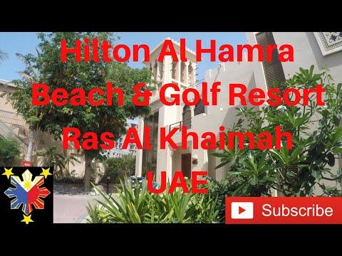 Vlog#36 Hilton Al Hamra Beach & Golf Resort | Ras Al Khaimah | Hotel Review