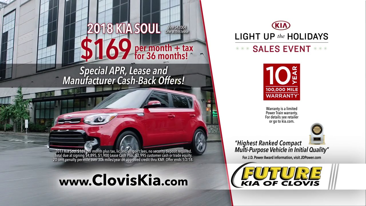 Future Kia Of Clovis Light Up The Holidays
