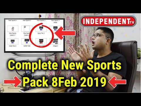 Independent TV Breaking News | New Sports Channels Complete Pack 8 Feb 2019