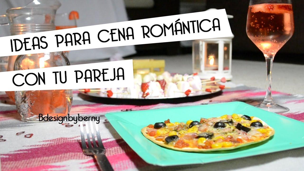 Ideas para preparar una cena rom ntica en pareja san for Preparar cita romantica