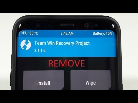 How To Uninstall From Twrp