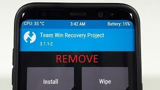 How to Remove TWRP Recovery on the Galaxy S8 and Galaxy S8+