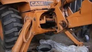 Cussing at the Backhoe