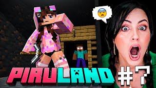 BUSCANDO a HEROBRINE en PIRULAND 💀 USTEDES LO VIERON! 😈  SECRETOS de Minecraft 🔥 Sandra Cires Play