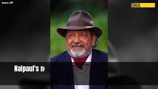 VS Naipaul: Nobel laureate, Man Booker Prize winner, not everyone's cup of tea