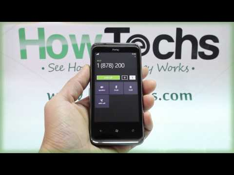 How to Make a Call on HTC 7 Pro