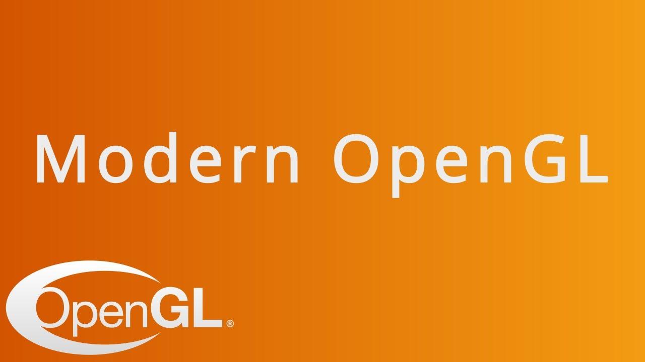 Using Modern OpenGL in C++