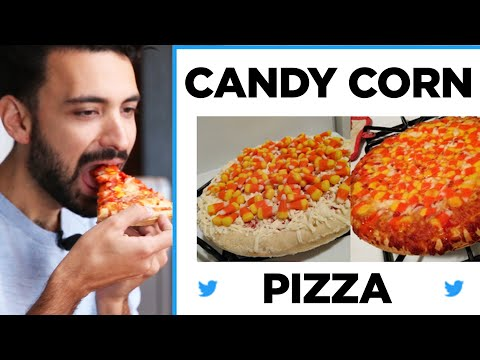 Tony Sandoval on The Breeze - Who is ready for a Candy Corn Halloween Pizza?!?