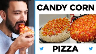 We Tried The Candy Corn Pizza Trend