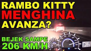 Avanza Turbo: RAMBO2KD RESMI JADI RAMBOKITTY // PERNAH LIHAT AVANZA LARI 206 KM/H GPS? CUMAN DISINI!
