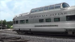 Deadheading California Zephyr with Private Car
