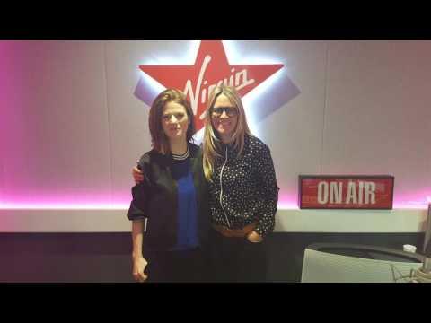 Rose Leslie on Virgin Radio UK