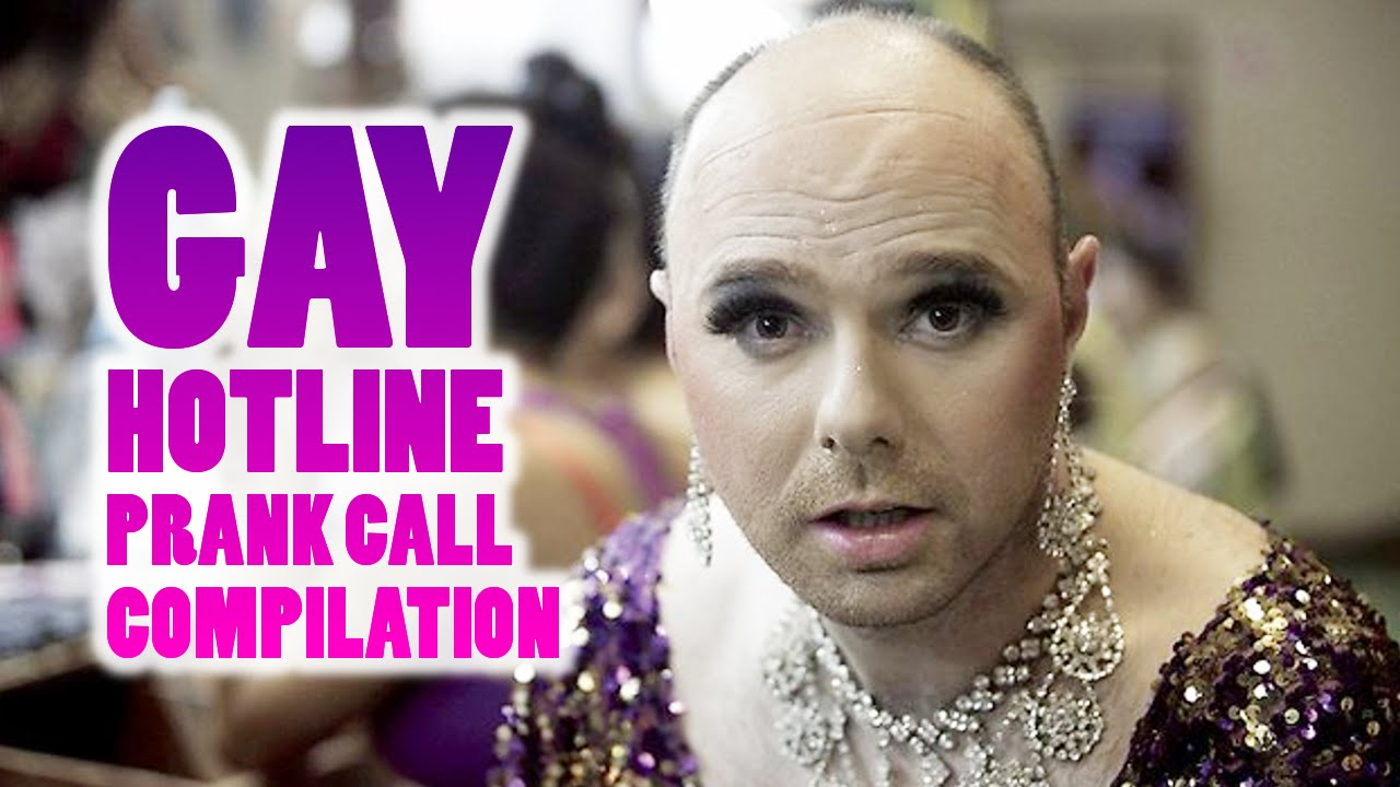lesbian and gay hotline spoof call