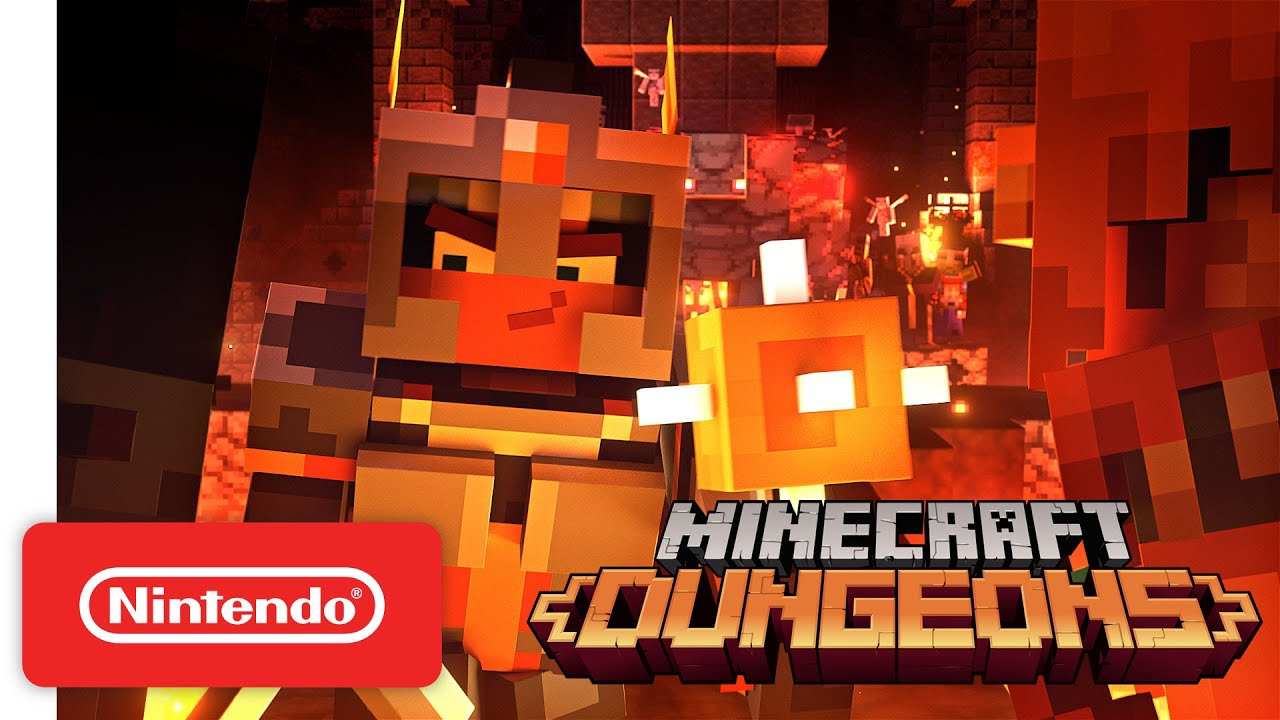 Minecraft Dungeons: Holiday Trailer 2020
