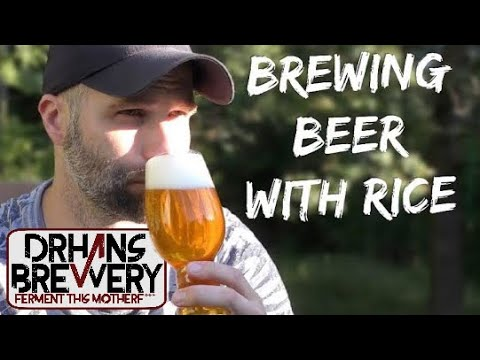 Brewing with rice - Rice beer grain to glass