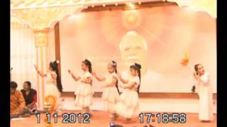 Brahma Kumaris Platinum Jubilee Nepali theme song with dance, Kathmandu Nepal.