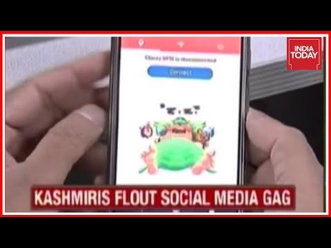 Social Media Ban In  Kashmir Flouted Using VPN