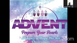 The Legacy of Hope: We Are Overcomers, November 29 2020