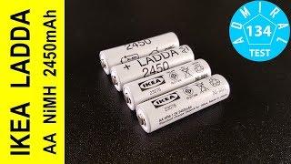 Тест акумуляторів IKEA Ladda AA NiMH 2450mAh
