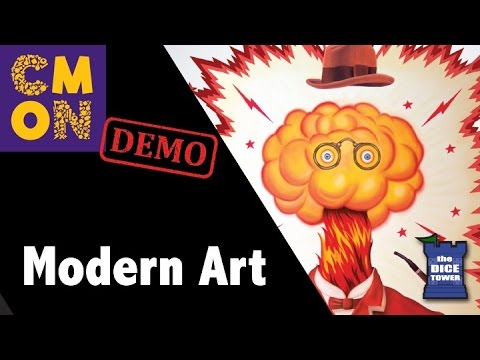 CMON Expo 2017: Modern Art Demo!!