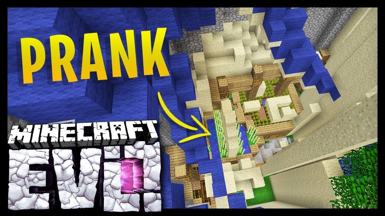 I GOT PRANKED Minecraft Evolution SMP YouTube - Minecraft namen andern anyart