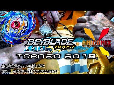 TORNEO BURST!: Beyblade Argentina Tournament 2018 en Anicomix Free San Valentín