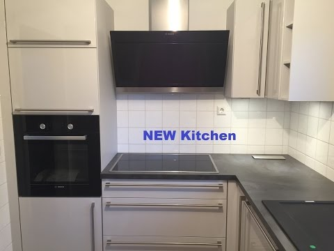 Kleine Küche? .. Problem! Vorher - Nachher Planung old-new kitchen