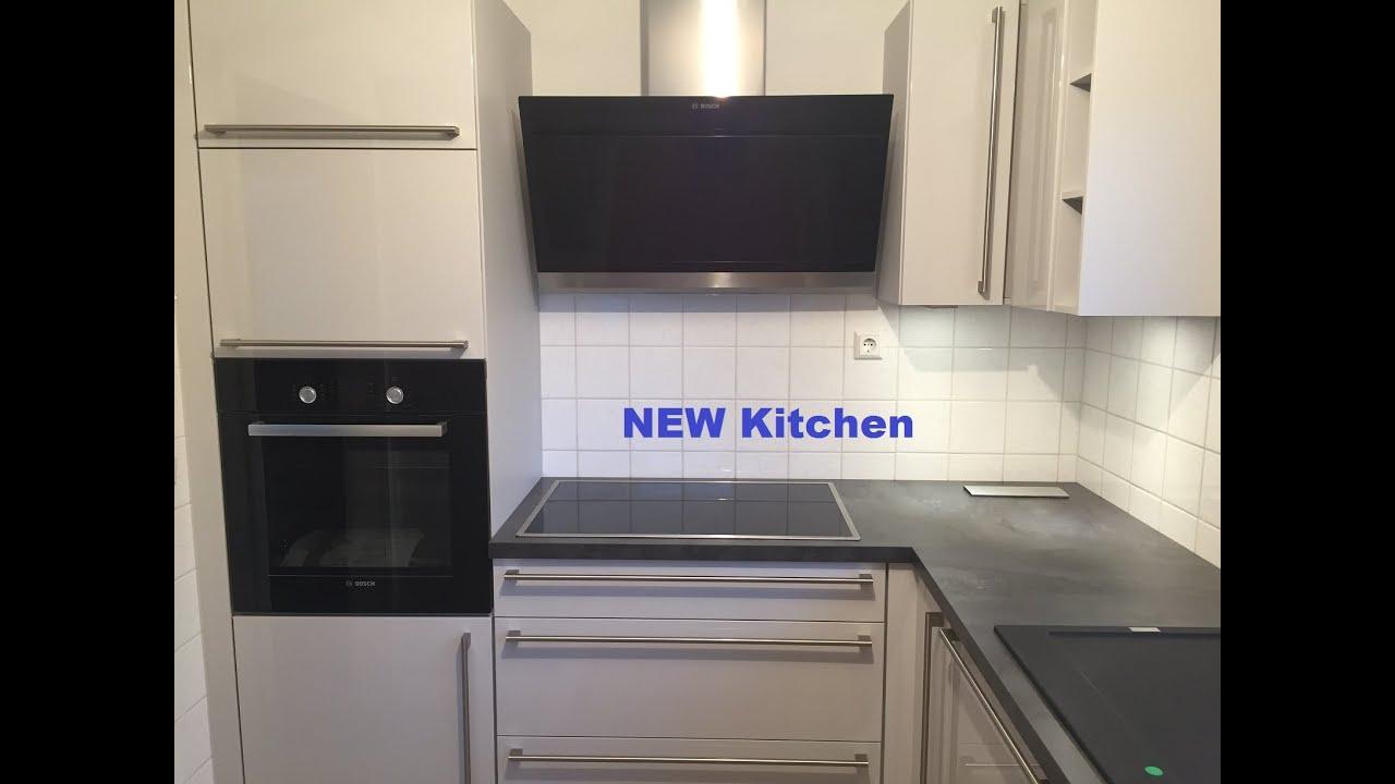 Kleine Küche? ...kein Problem! Vorher - Nachher Planung old-new kitchen