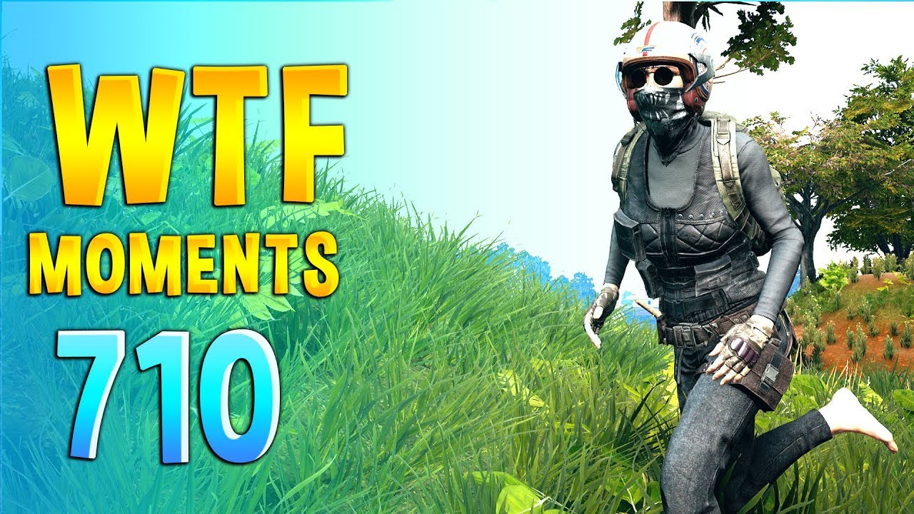 PUBG WTF Funny Daily Moments Highlights Ep 710