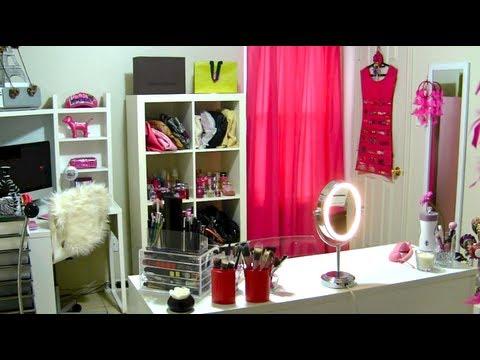 TOUR Cuarto de Maquillaje Grabacin y Oficina  ROOM TOUR
