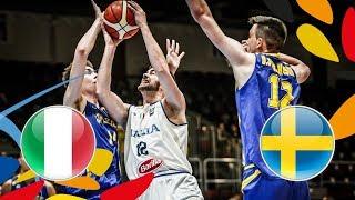 Italy v Sweden - Full Game - FIBA U20 European Championship 2018