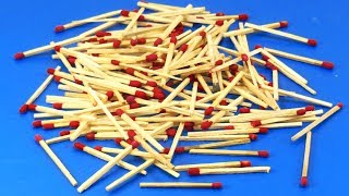 Matchstick Art and Craft Idea | Best craft idea | DIY arts and crafts | matchstick cool   craft