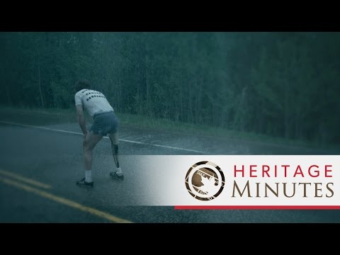 Terry Fox, a 21 year old one-legged cancer patient, ran 3,339miles across Canada in 143 days before dying. He ran the equivalent of a full marathon every day and was the youngest person ever named a Companion of the Order of Canada. The annual Terry F...