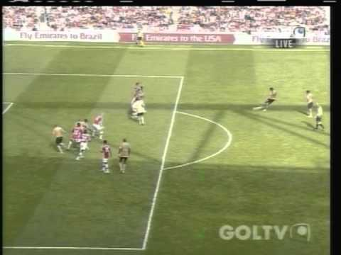 2008 (August 2) Arsenal (England) 0-Juventus (Italy) 1 (Emirates Cup)