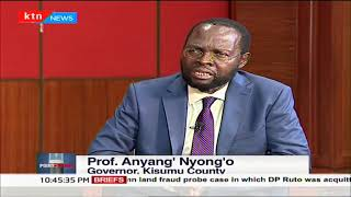Gov. Nyong\'o: I will retire from public office to pursue other matters after my term | POINT BLANK