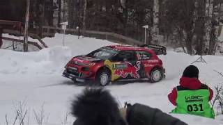 Rally Sweden 2019 High Speed & Action