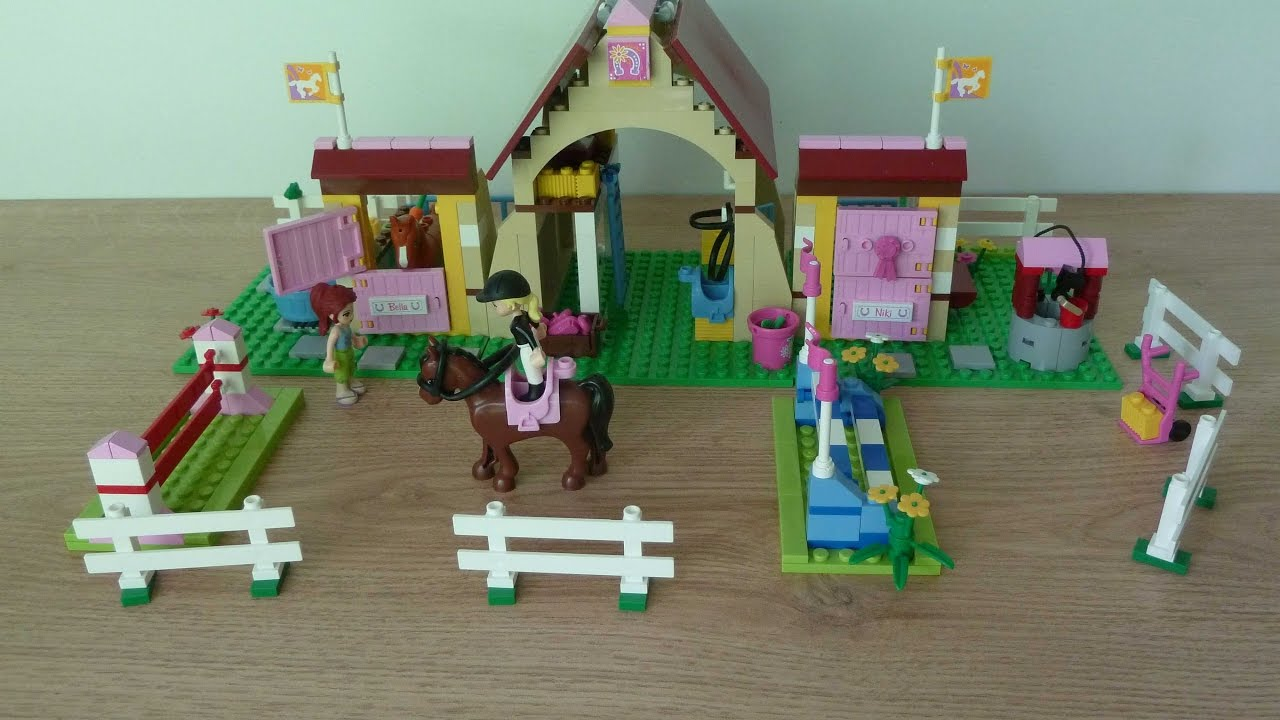 Lego 3189 Lego Friends Heartlake Stables Youtube