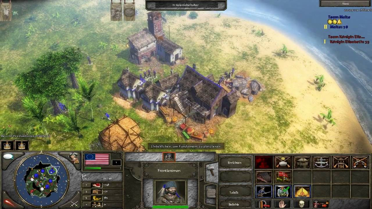 age of empires 3 the napoleonic era americans hd glance part 1 3