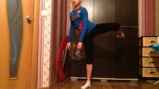 Передача: Шаги к успеху ))) 4 равновесия и поворот !!!)
