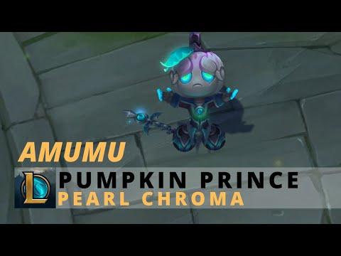 Pumpkin Prince Amumu Pearl Chroma - League Of Legends