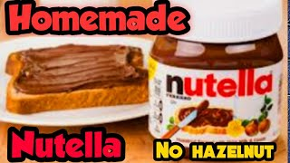 Homemade Nutella |How to make …