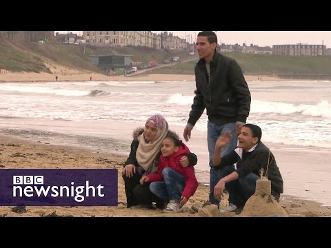 The Syrian refugees rebuilding their lives in Britain: Extended Film - BBC Newsnight