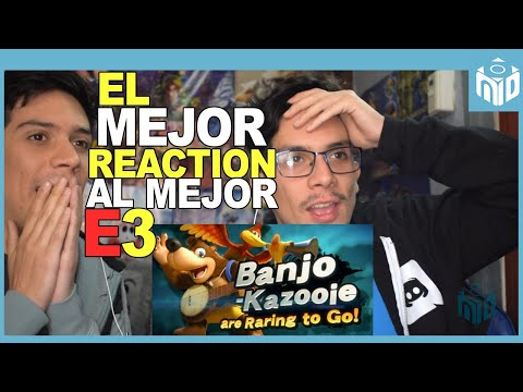 REACTION Banjo y Kazooie en Smash -  Zelda Breath of the Wild 2 - Nintendo Direct E3 2019 | N Deluxe