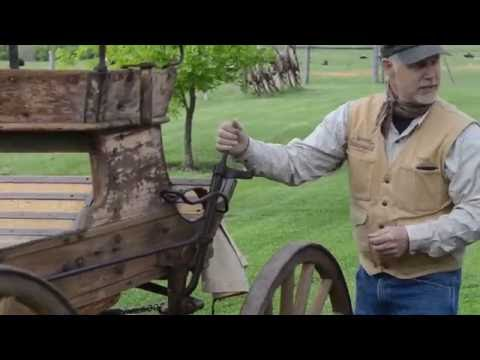 Original California Stagecoach Wagon