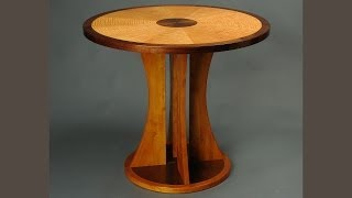 Making A Veneered Occasional Table, Part 1, Vacuum Bagging: Andrew Pitts ~ Furnituremaker