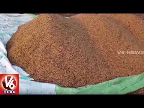 Farmers Lose Crops As Sudden Rain Hits Jagtial District, Urges Govt For Compensation | V6 News