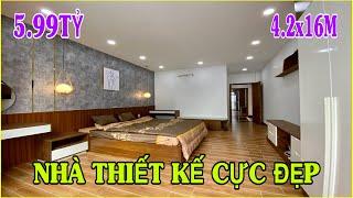Bán nhà Gò Vấp 654 | Nhà đẹp Đại Hạ Giá bán gấp ! Xem và mua ngay kẻo lỡ 4.2m x 16m giá chỉ 5.xx tỷ