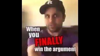 Когда ты наконец победил в споре с девушкой 1