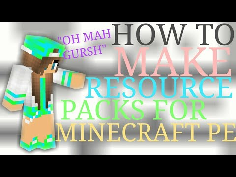 how to make resource pack for minecraft
